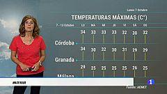 El tiempo en Andalucía - 07/10/19