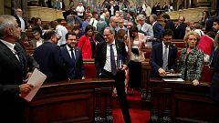 Fracasa la moción de censura a Torra al contar solo con los apoyos de Cs y PP