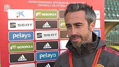 """Jorge Vilda: """"El reto es ser nosotros mismos"""""""