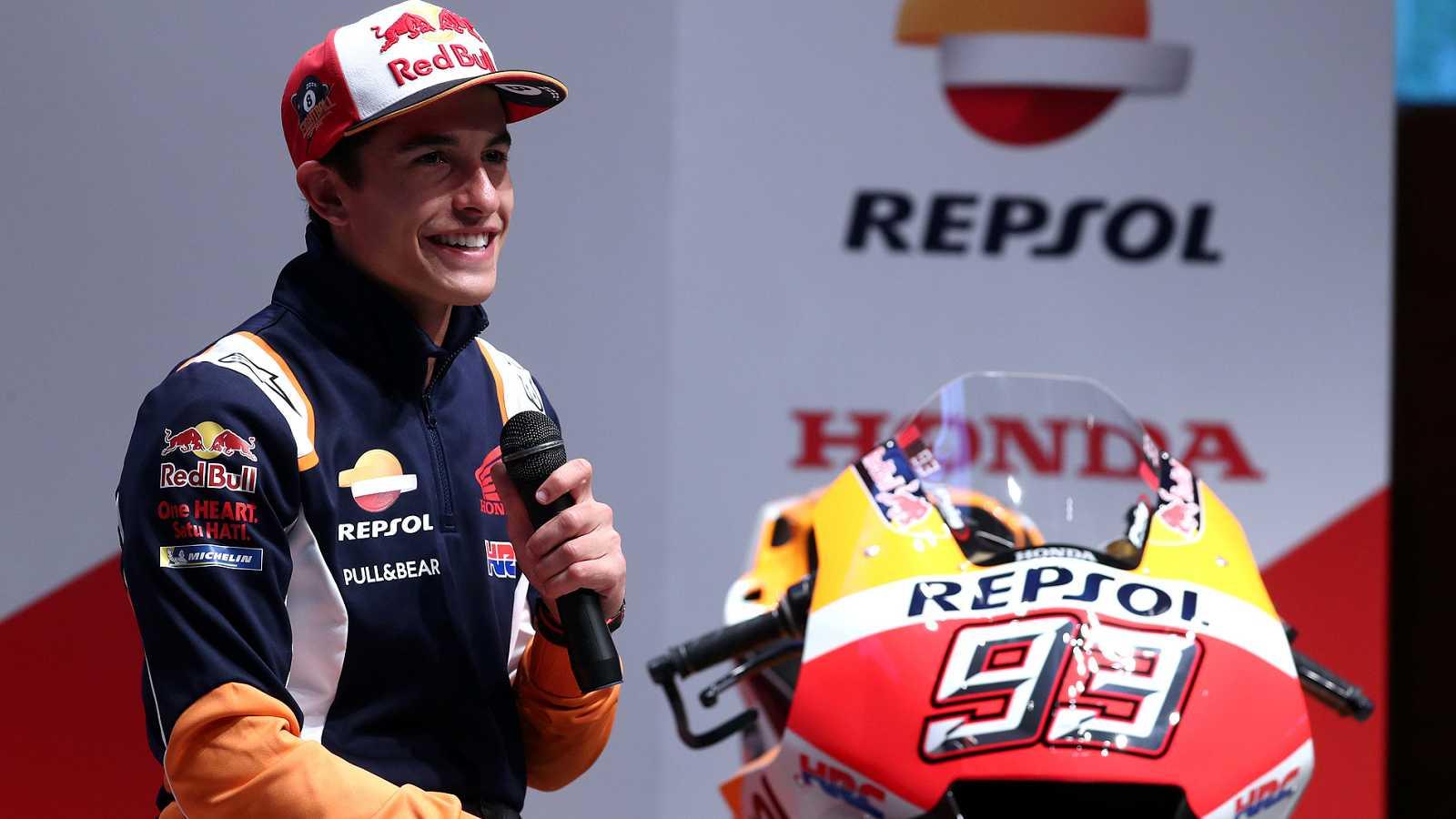 """Márquez: """"Tenía ganas del título en Tailandia porque era el primer 'matchball'"""""""