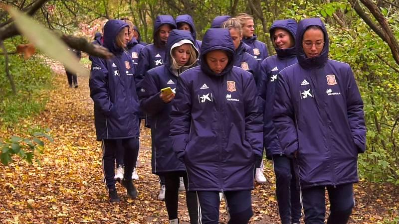 La selección, concentrada para su choque contra República Checa