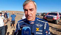 """Carlos Sainz: """"Abrir la carrera nos viene bien de cara al Dakar"""""""