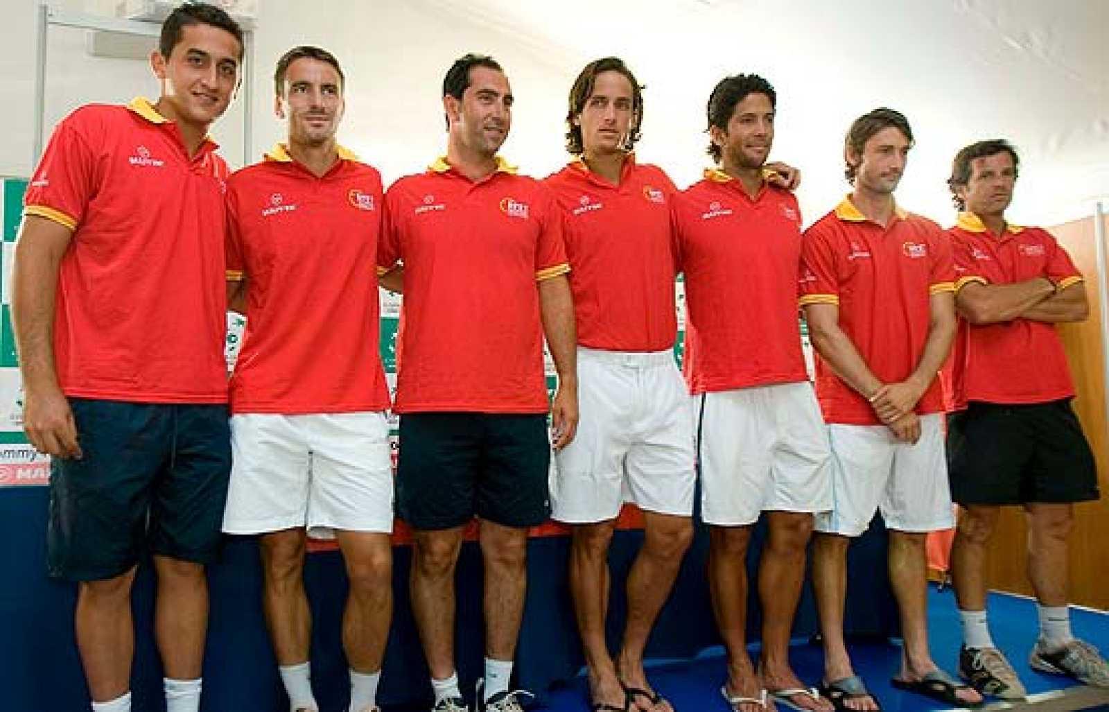Este fin de semana arrancan los cuartos de final de la Copa Davis, en Marbella. España se endrenta a Alemania, sin Rafa Nadal y sin Ferrer.