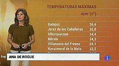 El tiempo en Extremadura - 08/10/19