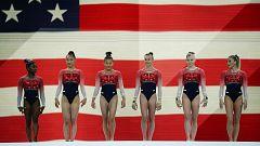 Biles lleva a Estados Unidos a su quinto Mundial consecutivo