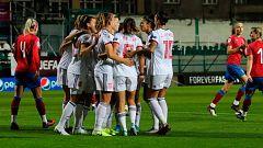 República Checa 0-1 España: autogol de Jana Sedlackova