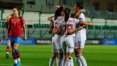 República Checa 0-4 España: Paredes, a la escuadra