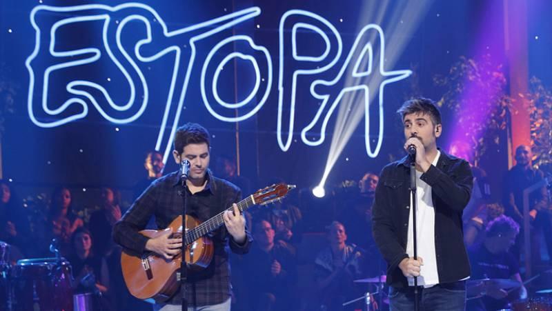 RTVE graba un especial de Estopa para su programación de Navidad