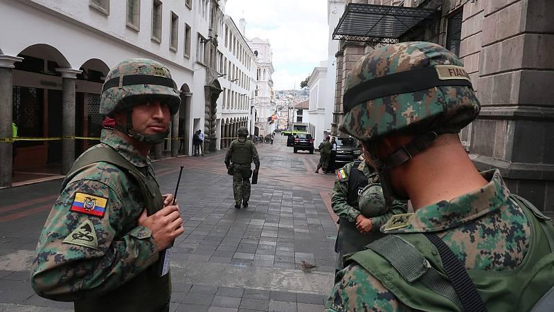 El Gobierno de Ecuador ofrece diálogo a los manifestantes