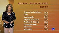 El tiempo en Extremadura - 09/10/19