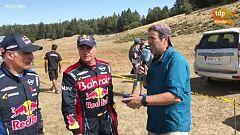 """Carlos Sainz: """"Hemos roto un manguito a falta de 10 kilómetros para la meta"""""""