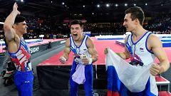 Rusia, campeona del mundo de gimnasia