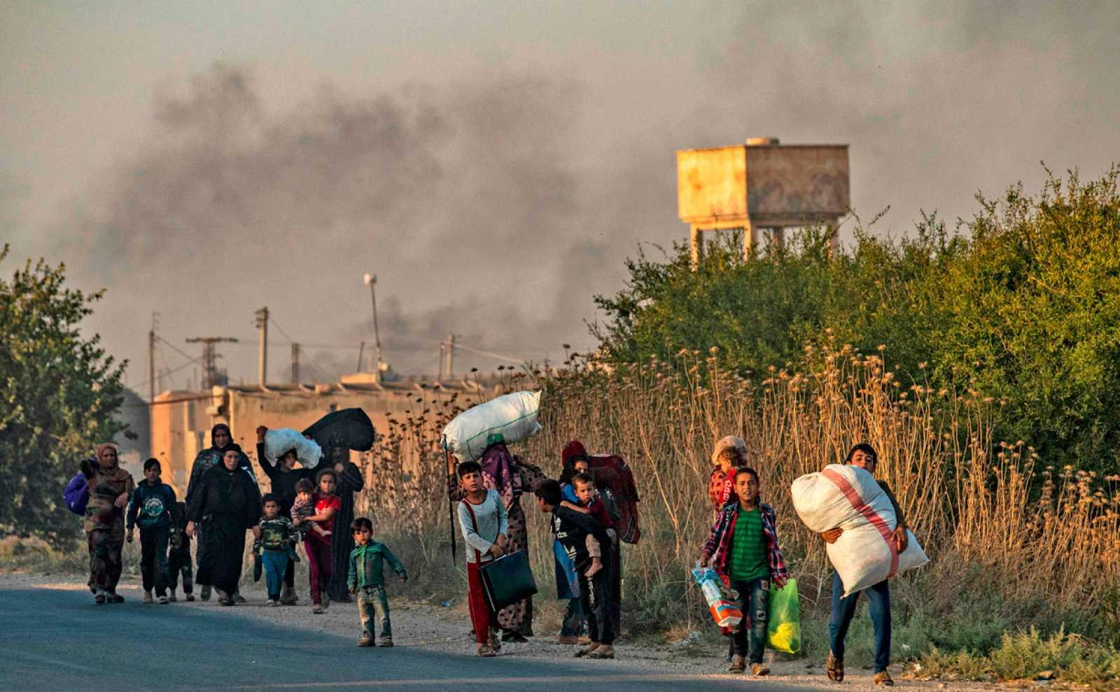 Turquía ataca a los kurdos en el norte de Siria