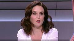 """Díaz Ayuso considera que Telemadrid ya no es un """"servicio esencial"""""""
