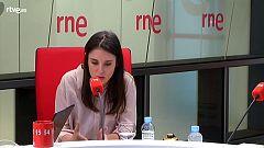 """Las Mañanas de RNE con Íñigo Alfonso - Montero: """"Sánchez agita un día el fantasma del 155 y otro dice que es el garante de la convivencia"""""""