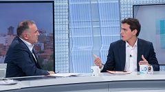 """Rivera insiste en que no estará en un Gobierno con Sánchez pero pide """"compromiso"""" para """"desbloquear España"""""""