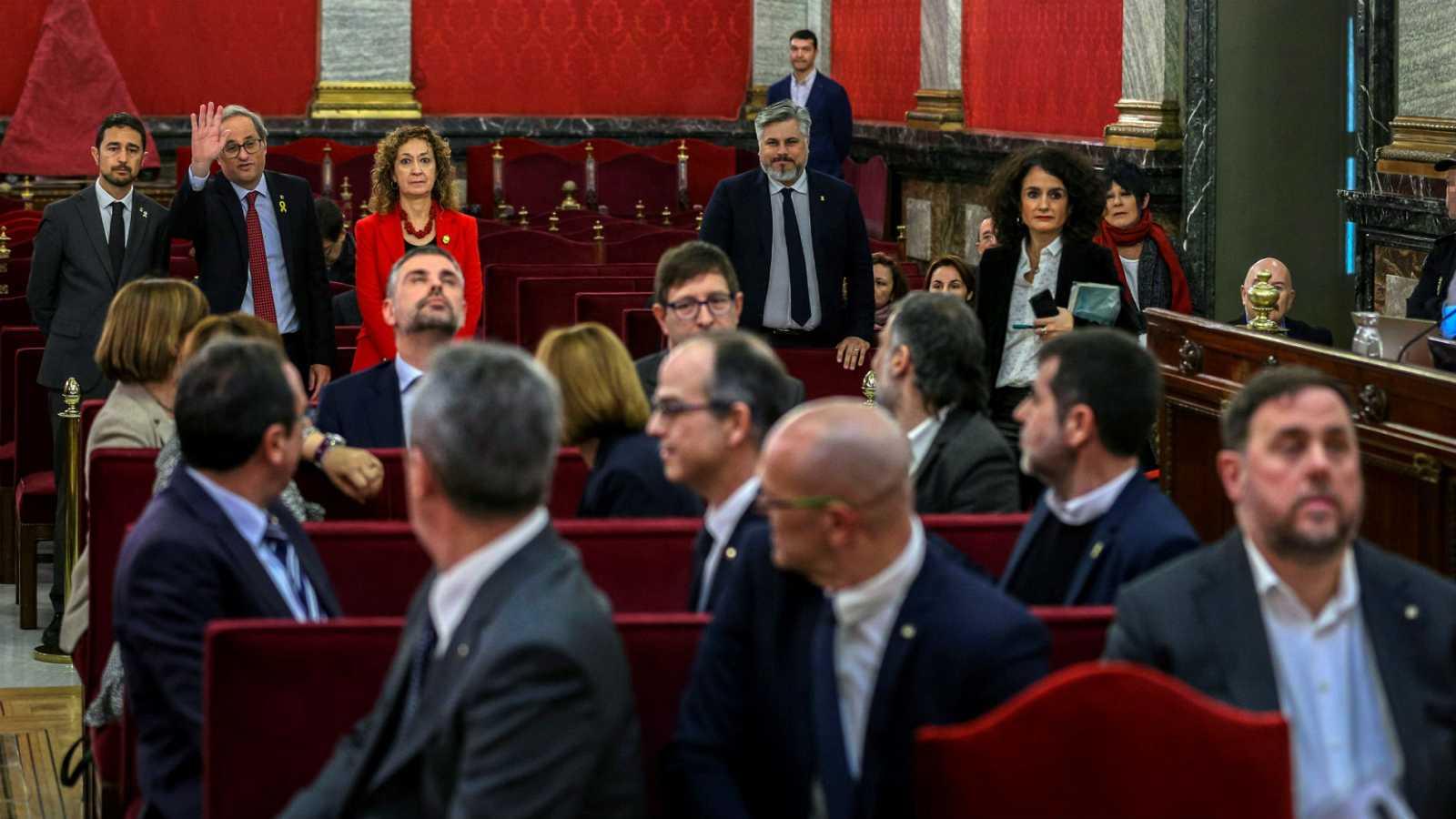 Las mañanas RNE con Íñigo Alfonso - Así sonó el juicio del 'procés'