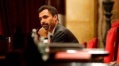El Constitucional advierte a Torrent de consecuencias penales si persiste en las resoluciones independentistas