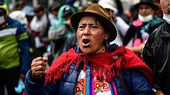 Cinco personas han muerto en Ecuador durante las protestas contra Moreno por la subida del combustible