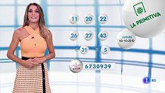 Lotería Nacional + La Primitiva + Bonoloto - 10/10/19