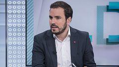 """Alberto Garzón (IU) acusa a Sánchez de """"instrumentalizar"""" la exhumación de Franco para """"parecer de izquierdas"""""""