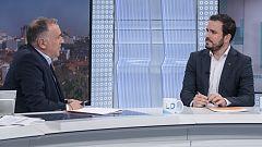 Los desayunos de TVE - Alberto Garzón, coordinador federal de Izquierda Unida y Ana Oramas, portavoz de Coalición Canaria en el Congreso de los Diputados