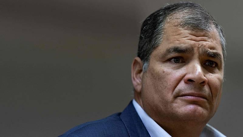 """Correa pide elecciones anticipadas y asegura que """"ya es tarde"""" para la mediación en Ecuador"""