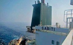 El Sabiti fue atacado dos veces este viernes mientras estaba a unas 60 millas de la ciudad saudí de Yeda provocando un vertido de crudo en el Mar Rojo