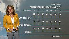El tiempo en Canarias - 11/10/2019