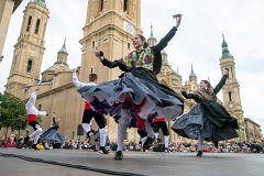 España Directo - Bailando la Jota con los infanticos del Pilar