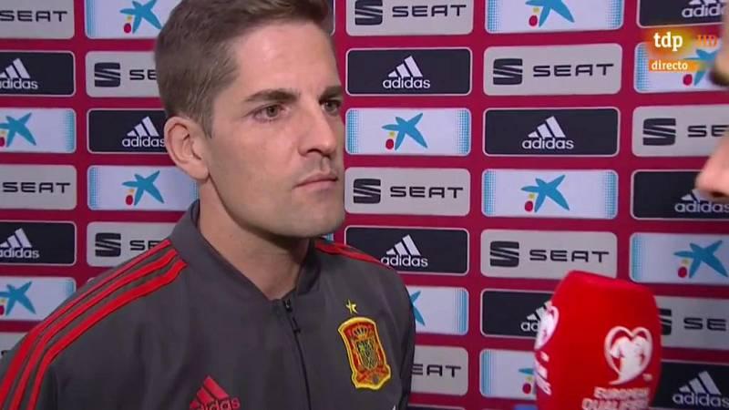 """Robert Moreno: """"Cada vez que nos juntamos, hay un nuevo récord que bate Sergio Ramos"""""""
