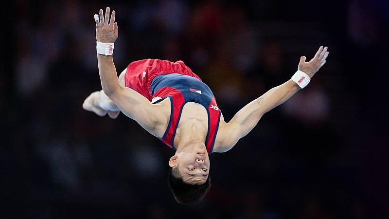 Yulo, campeón del mundo de suelo