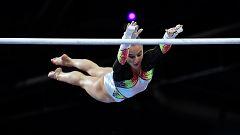 Nina Derwael, oro mundial en asimétricas