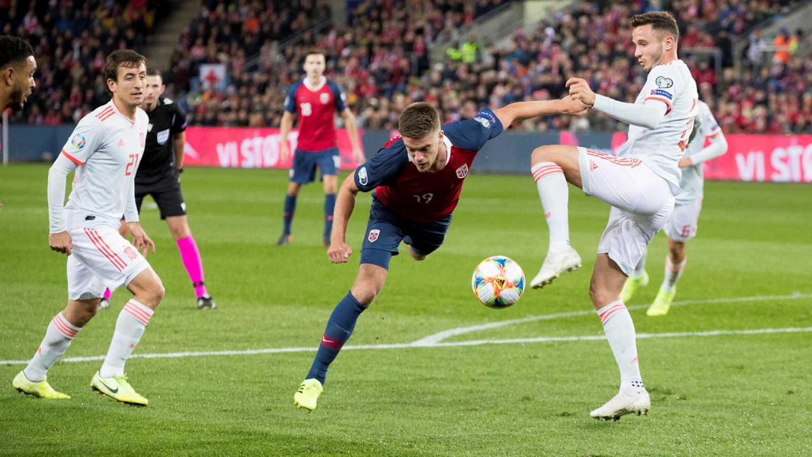 Fútbol - Programa Clasificación Eurocopa 2020 Previo: Noruega - España - ver ahora