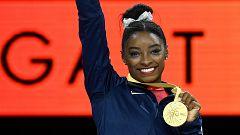 Simone Biles iguala el récord de Scherbo con 23 medallas mundiales