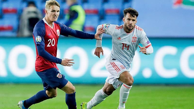 Resumen y goles del Noruega 1-1 España