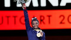 Simone Biles cierra el Mundial de Stuttgart con cinco medallas de oro