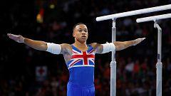 Joe Fraser, campeón del mundo en paralelas