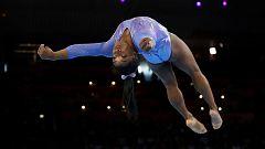 Simon Biles consigue en suelo su quinto oro mundial