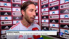 "Sergio Ramos: ""Me emociono cada vez que me pongo esta camiseta"""