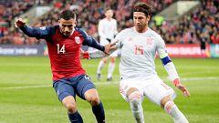 Un penalti en el último minuto le borró la sonrisa a España