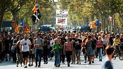 Protestas independentistas en Barcelona a horas de conocer la sentencia del procés