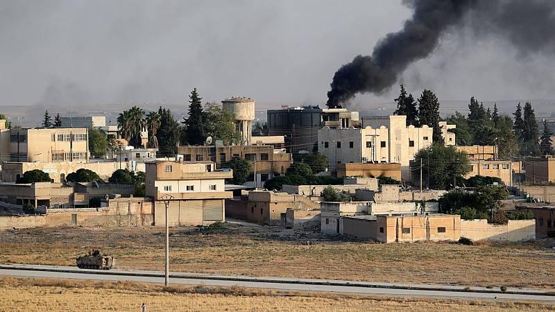 Sigue la ofensiva turca en el norte de Siria