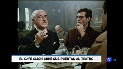 También hay espacio para el teatro en el mítico Café Gijón de Madrid