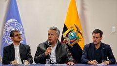 El movimiento indígena pide a Moreno anular el decreto 883 o seguirán con la movilización