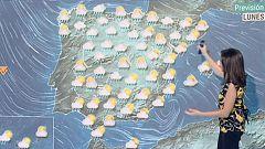 Precipitaciones y temperaturas en descenso este lunes en la mayor parte de la Península
