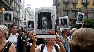 Cortes de calles en Barcelona y de carreteras en Cataluña en protesta por la sentencia del 'procés'