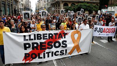 Independentistas cortan varias carreteras en protesta por la sentencia del 'procés'
