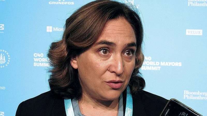 """La alcaldesa de Barcelona, Ada Colau, ha considerado que la sentencia que condena a penas de prisión a los líderes independentistas es """"la peor versión de la judicialización: la crueldad"""", y ha supuesto """"un retroceso del estado de derecho"""". """"El confl"""