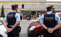 La sentencia del Supremo recrimina la actuación de los mossos el 1-O